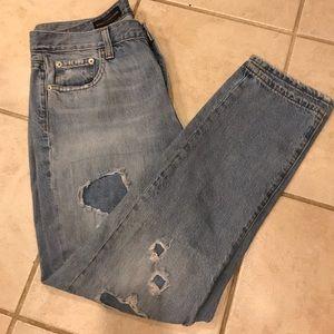 J Crew Broken In Boyfriend Jeans